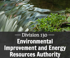 Division 130 - Environmental Improvement and Energy Resources Authority. Comment on Rules